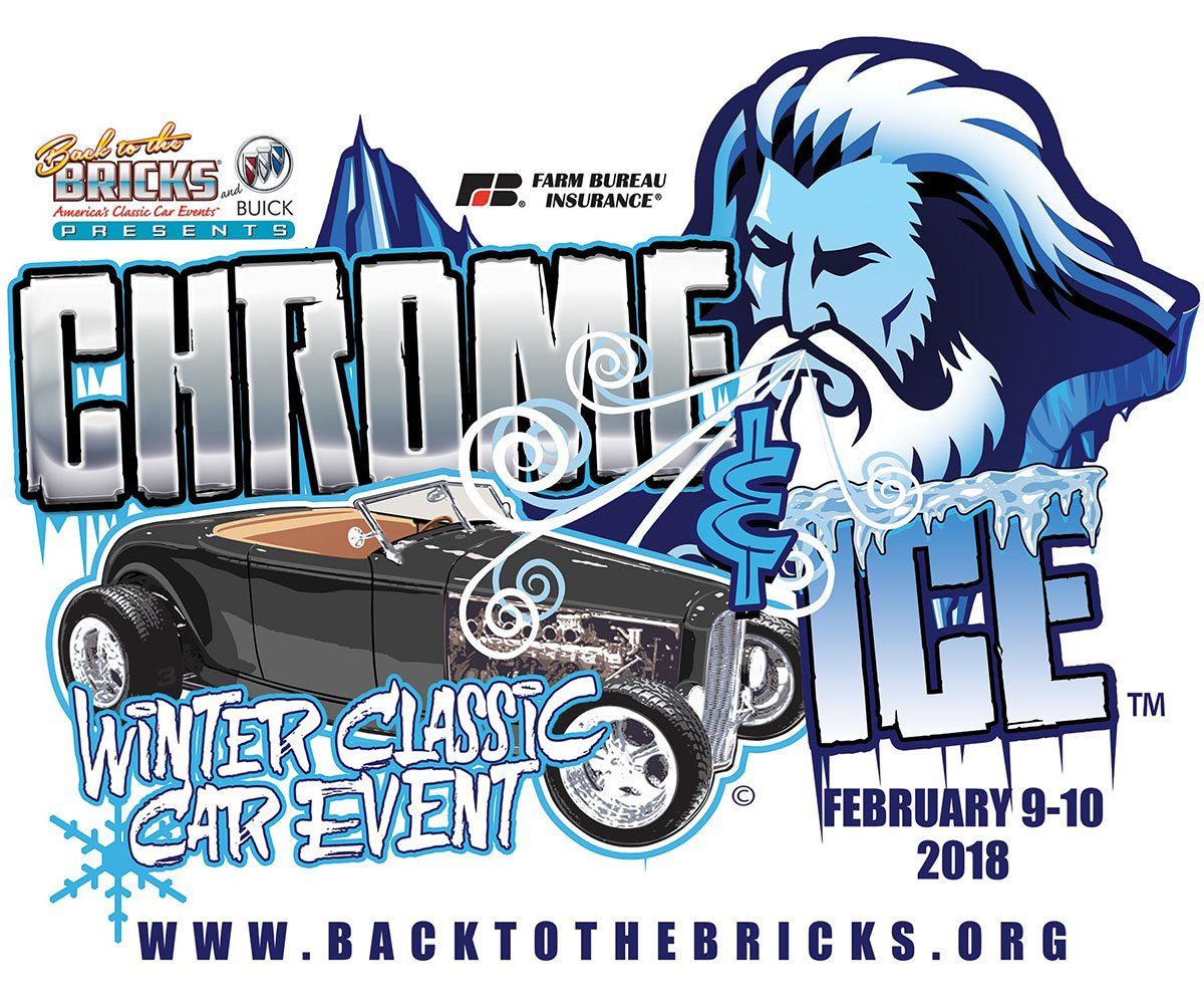 Chrome Ice Back To The BricksBack To The Bricks - Winter park car show 2018